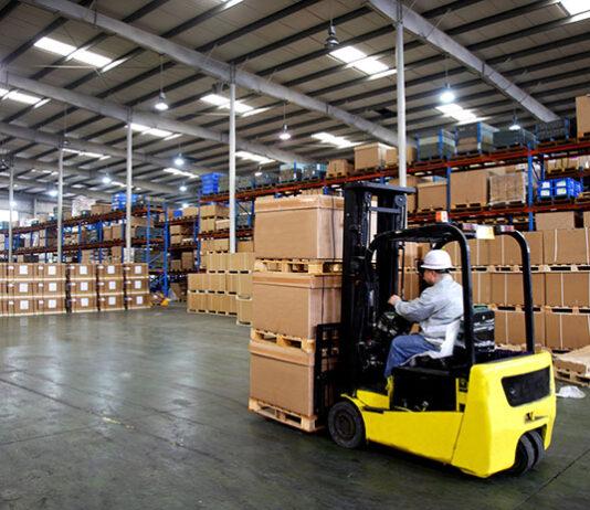 Terminal wózkowy w operacjach magazynowych